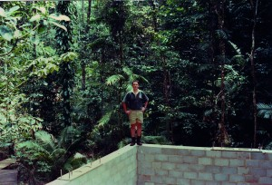 Daintree Discovery Centre Tower during construction